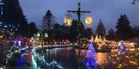 34th Annual Festival Of Lights At Vandusen Botanical Garden Canada
