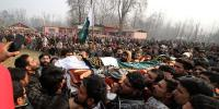 10 Kashmiris Martyred By Firing Of Indian Army In Pulwama