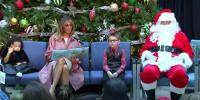 Melania Trump Makes Christmas Visit To Childrens Hospital