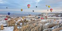 Cappadocia Turkey Hot Air Balloon Festival