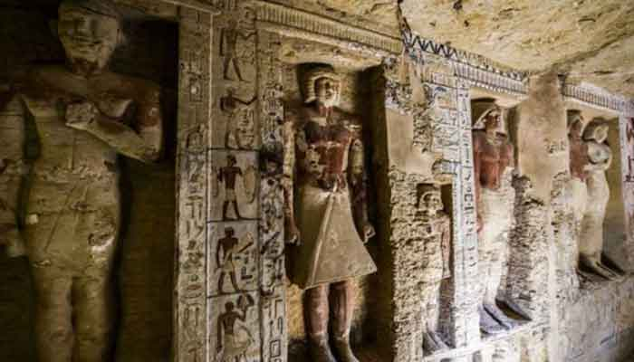 مصر ، چارہزارچارسو سال قدیم مقبرہ دریافت