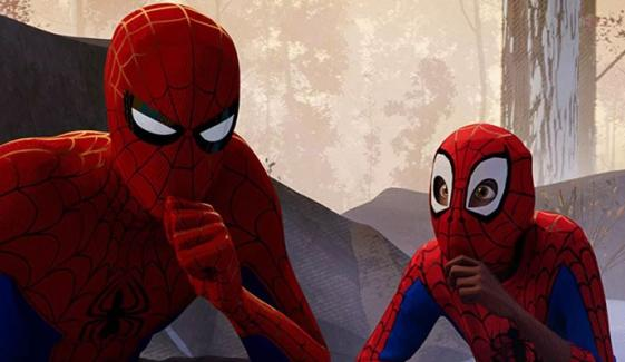 Spider Man Into The Spider Verse Secures Top Position On Box Office