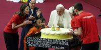 Pope Francis Celebrates 82nd Birthday