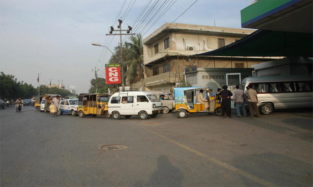کراچی میں سی این جی اسٹیشن کھل گئے