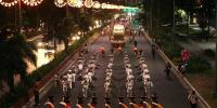 Annual Christmas Parade Held In Manila