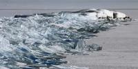 Mesmerizing Footage Of Ice Waves Breaking On Frozen Lake In Minnesota