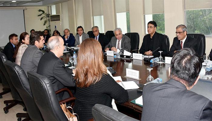 پاکستان اور آئی ایم ایف کی قرض پروگرام پر ویڈیو کانفرنس