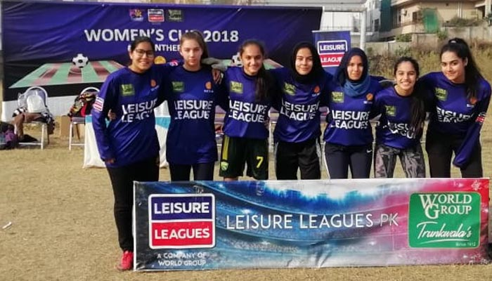 لیژر لیگ خواتین فٹ بال میں پوپو ایف سی کی 7-0 سے کامیابی