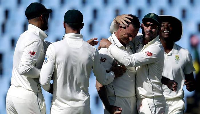 سینچورین ٹیسٹ:پاکستانی ٹیم 190 پر ڈھیر،پروٹیز کو 149 رنز درکار