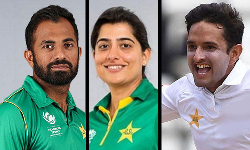 ثنا میر، عباس ،وہاب ICC ٹیم آف دی ایئر میں شامل