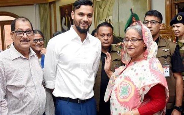 بنگلادیشی کرکٹر مشرفی مرتضیٰ رکن پارلیمنٹ منتخب