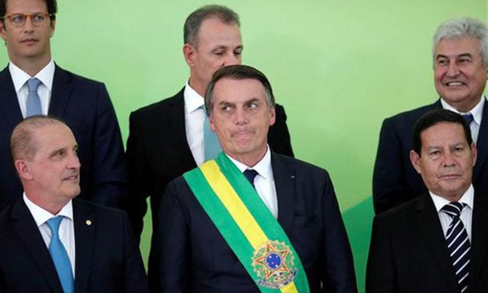 برازیل میں نئے صدر نے حلف اٹھا لیا