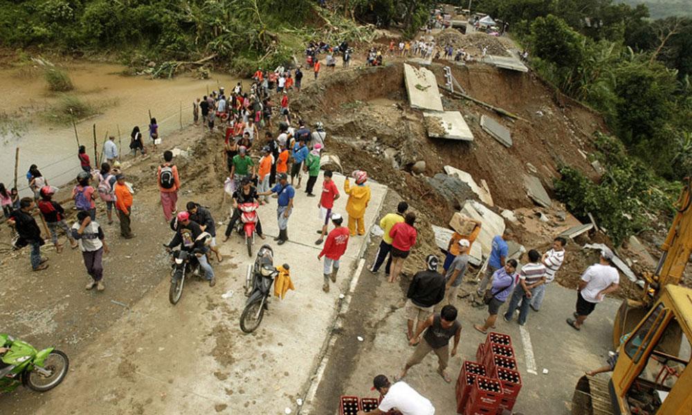 فلپائن، لینڈ سلائیڈنگ و سیلاب سے 85 افراد ہلاک