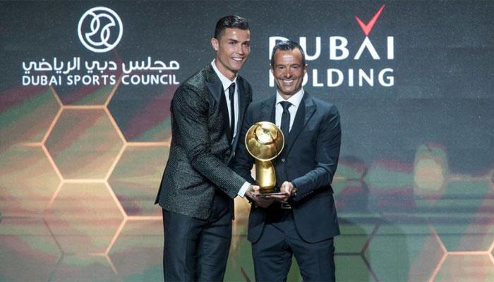 رونالڈو نے پلیئر آف دا ائیر 2018 ایوارڈ جیت لیا