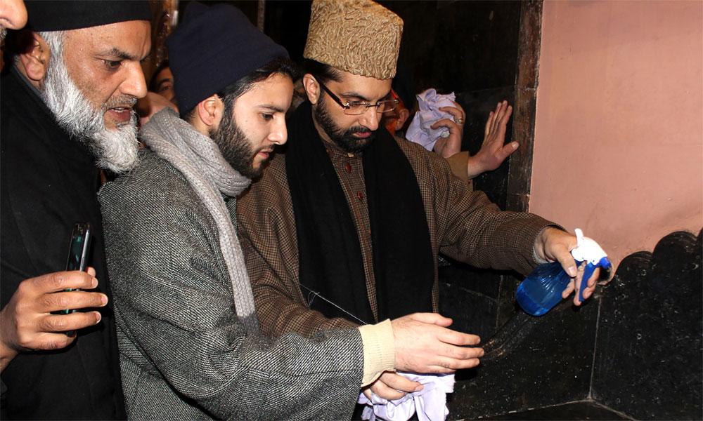 مقبوضہ کشمیر: مسجد کی بے حرمتی کیخلاف آج یومِ تقدّس
