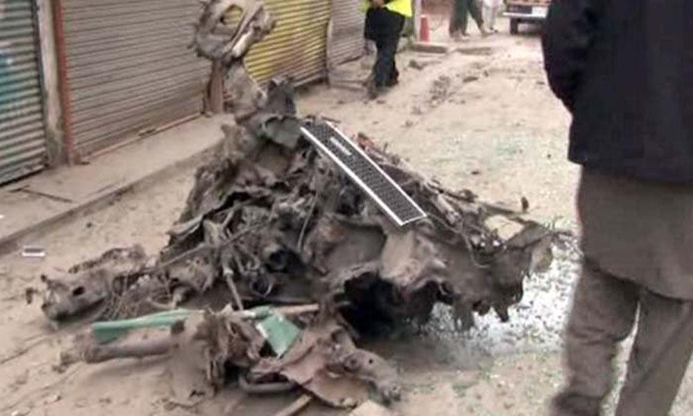 پشاور دھماکے میں 10 کلو دھماکا خیز مواد استعمال ہوا