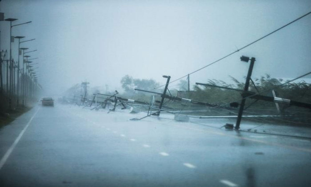 تھائی لینڈ میں طوفان پابک کا زور ٹوٹ گیا