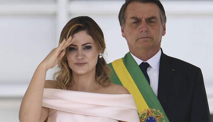 برازیل: خاتون اول کا اشاروں کی زبان میں خطاب