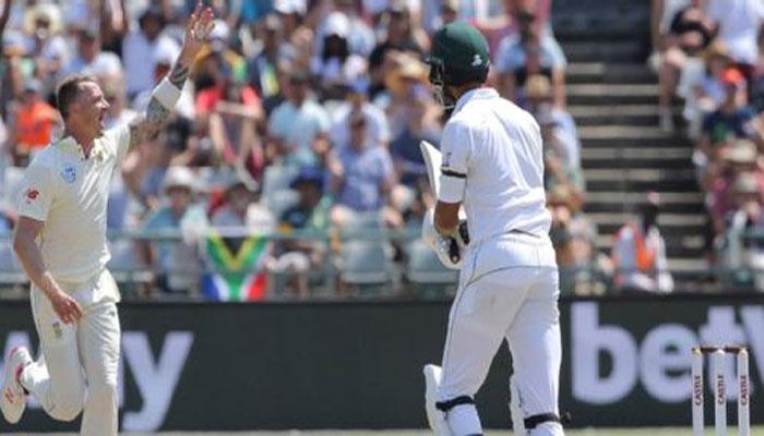 جنوبی افریقا کو 41 رنز  کا ہدف، پاکستان کی شکست یقینی