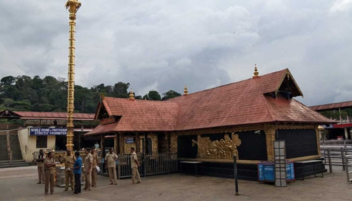 سبریمالا مندر میں داخل ہونیوالی خواتین کو دھمکیاں موصول
