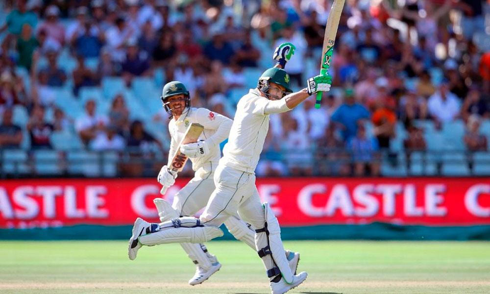 جنوبی افریقا کیپ ٹاؤن ٹیسٹ میں فتح کے نزدیک