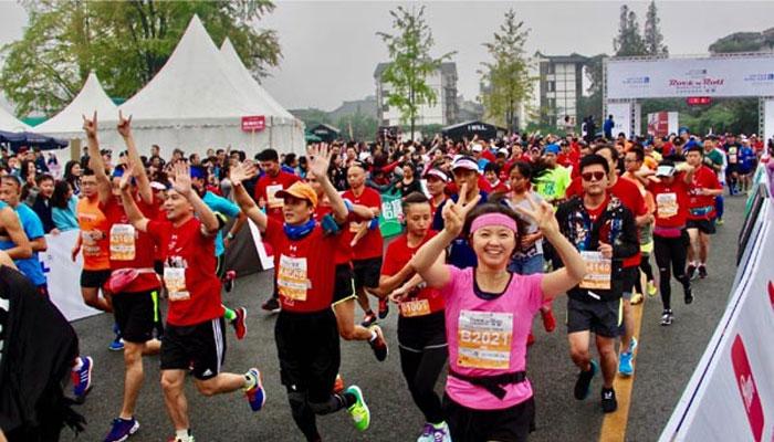 چین : میرا تھن ریس میں 28 ہزار افراد کی شرکت