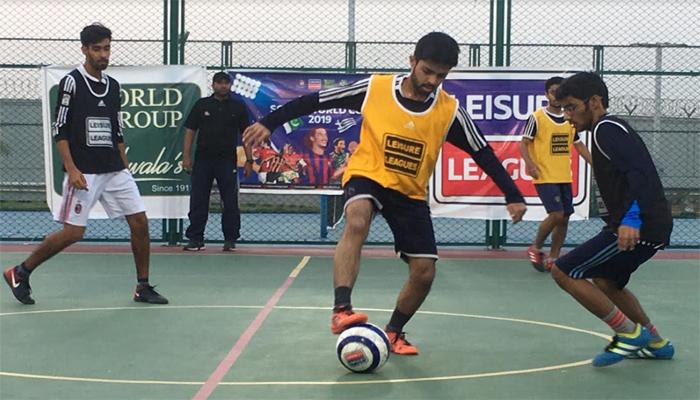 لیژر لیگ فٹ بال:حبیب یونیورسٹی نے ایچ ایف سی کو ہرادیا