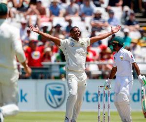 جنوبی افریقا نے کیپ ٹاؤن ٹیسٹ و سیریز جیت لی