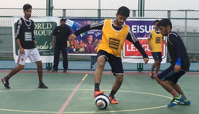 لیژر لیگ فٹ بال:ابرار کی ہیٹ ٹرک، حبیب یونیورسٹی نے فتح حاصل کرلی
