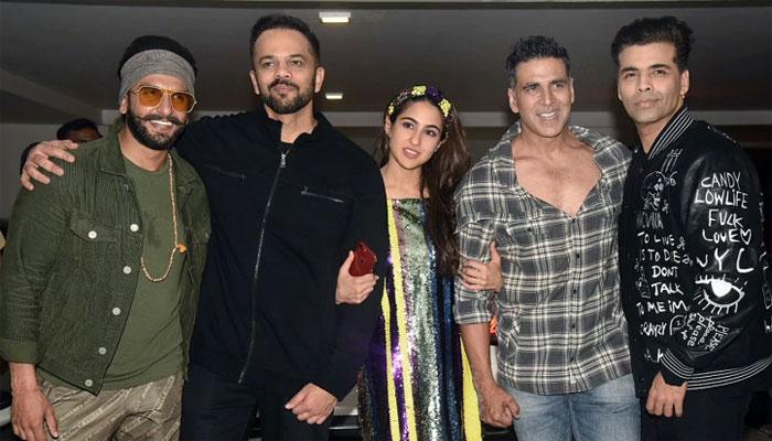 'سمبا' کی کامیابی پر فلم ٹیم نے خوب جشن منایا