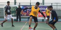 Leisure League Football Abrars Hat Trick Victory Of Habib University
