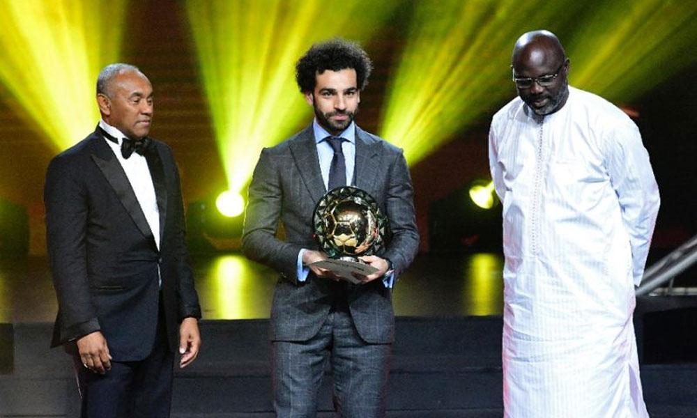 محمد صلاح مسلسل دوسری بار افریقا کے بہترین فٹ بالر قرار