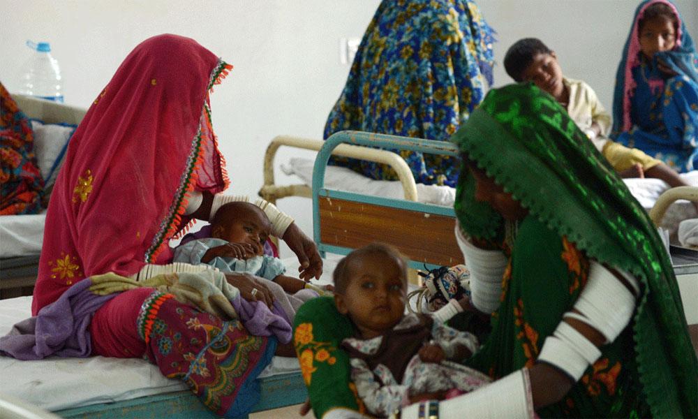 تھر کے اسپتال میں مزید دو معصوم بچے فوت