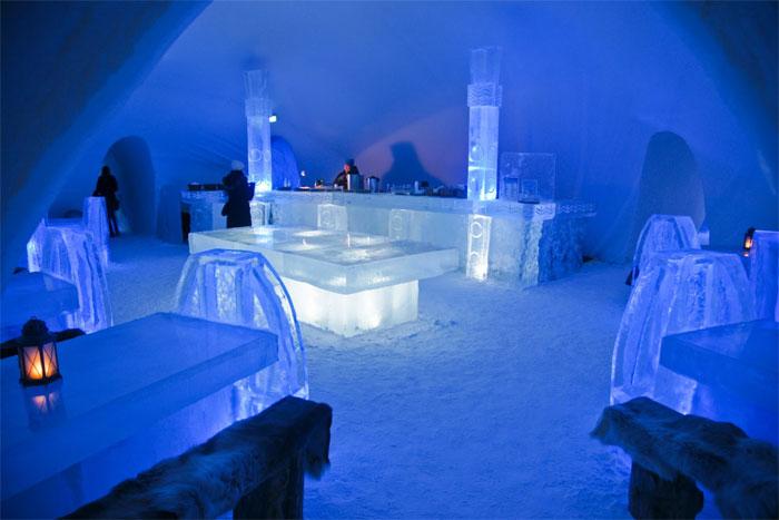 فن لینڈ برف سے بنا ہوٹل کھول دیا گیا