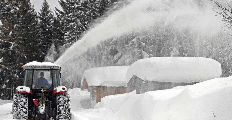 یورپ: شدید برف باری اور سردی سے 17 افراد ہلاک