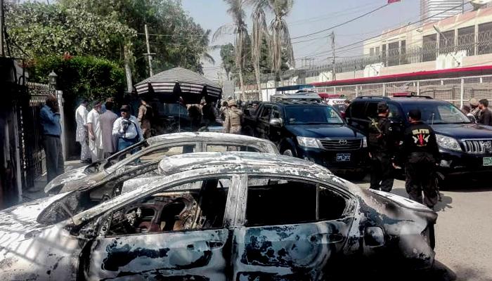 کراچی میں چینی قونصلیٹ پر حملے کی تفتیش مکمل