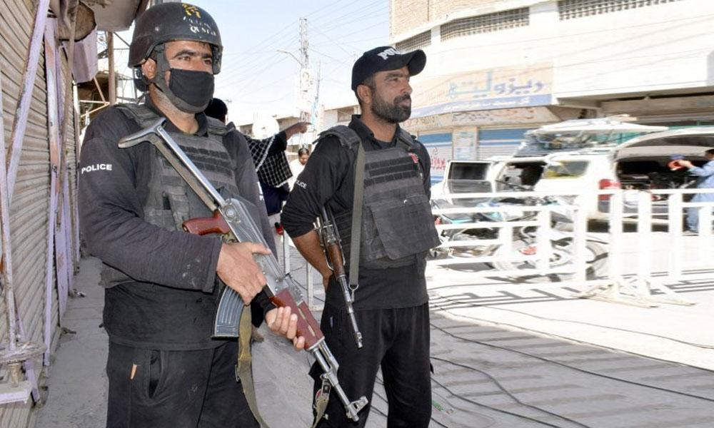 کوئٹہ میں جمعے کیلئے سیکیورٹی ہائی الرٹ