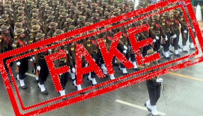 بھارتیوں نے زیادہ لائیکس کیلئے فوجیوں کی جعلی تصاویرسوشل میڈیا پر ڈالدیں