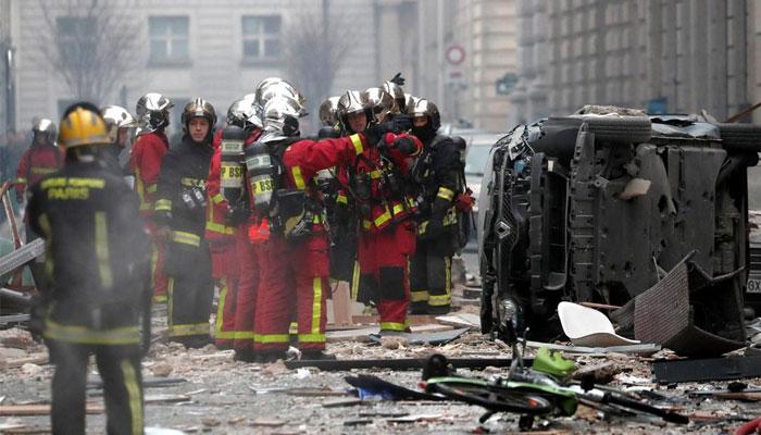 پیرس میں دھماکا4 افراد ہلاک 50 زخمی