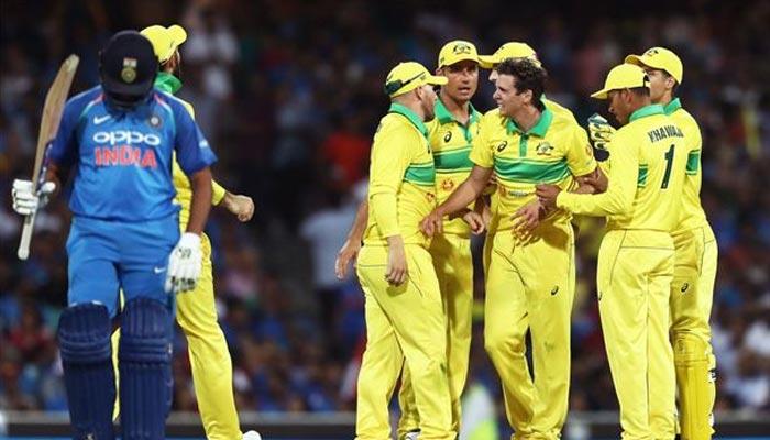 پہلا ون ڈے: آسٹریلیا نے بھارت کو 34رنز سے ہرادیا