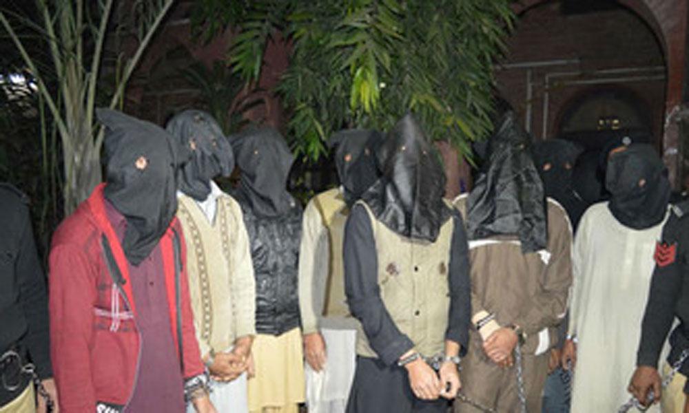 لاہور، خاتون سمیت 7 منشیات فروش گرفتار