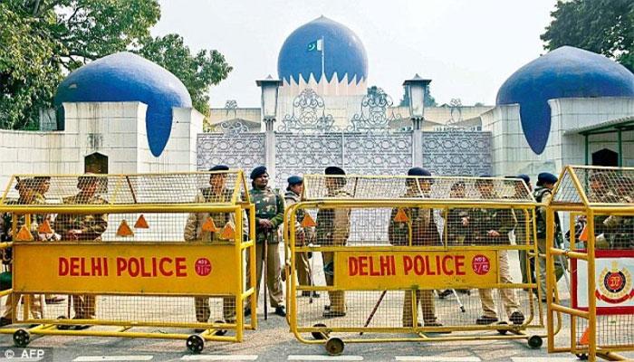 بھارت طاقت کے نشے میں سفارتی آداب بھی بھول گیا
