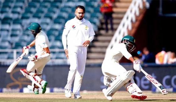 3rd Test South Africa Set 381 Runs Target To Pakistan