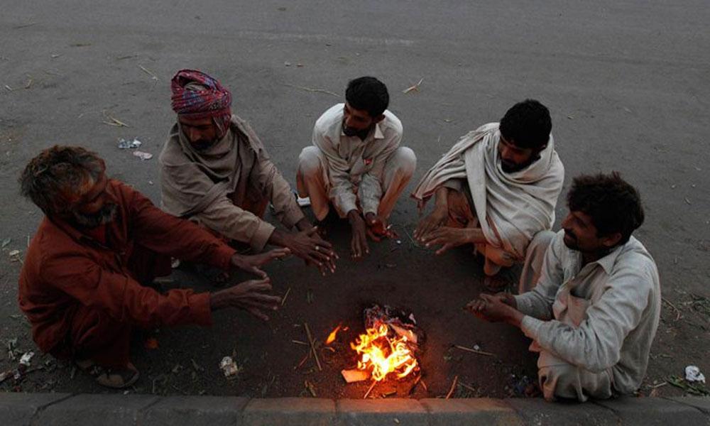 کراچی میں سرد بڑھ گئی