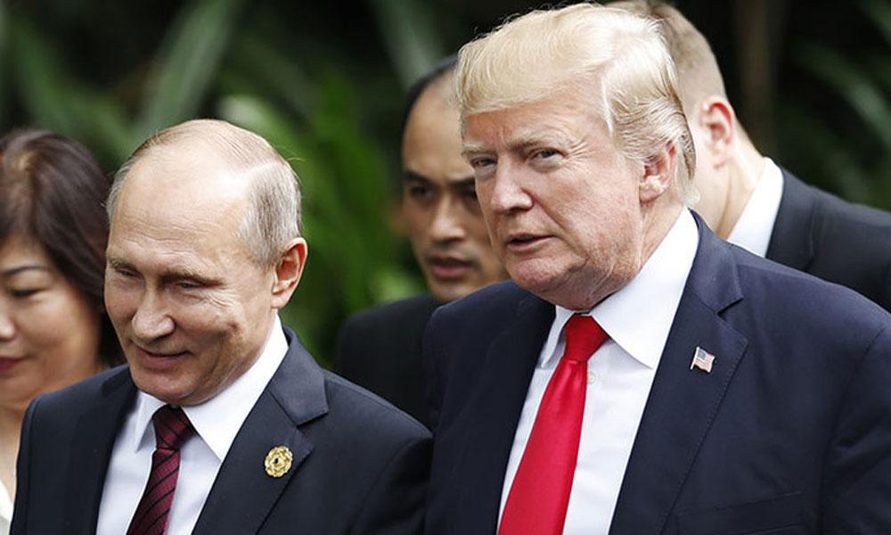 ٹرمپ, پیوٹن کی خفیہ ملاقاتوں پر ڈیموکریٹس کا سخت ردعمل