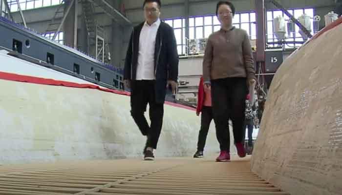 چین کا پہلا تھری ڈی پرینٹیڈ برج تیار