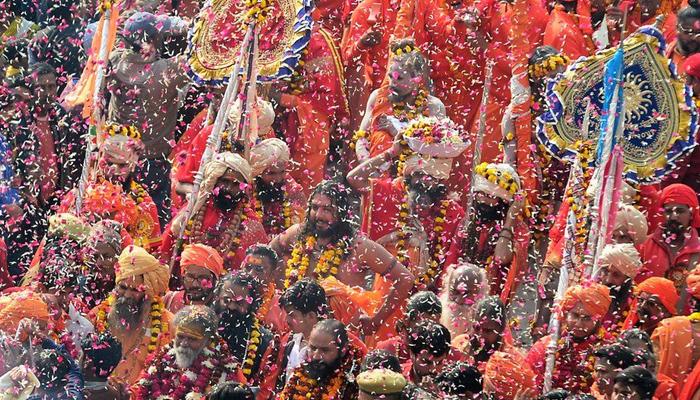 کمبھ میلے کا آغاز، کروڑوں ہندو یاتری ڈبکی لینے کو تیار