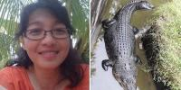 Female Scientist Is Eaten Alive By Crocodile After It Jumps Up An 8ft High Wall