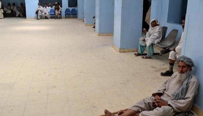 بلوچستان میں صحت عامہ کی صورتحال شدید خراب