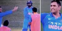Watch Dhoni Loses His Cool Blasts Khaleel Ahmed